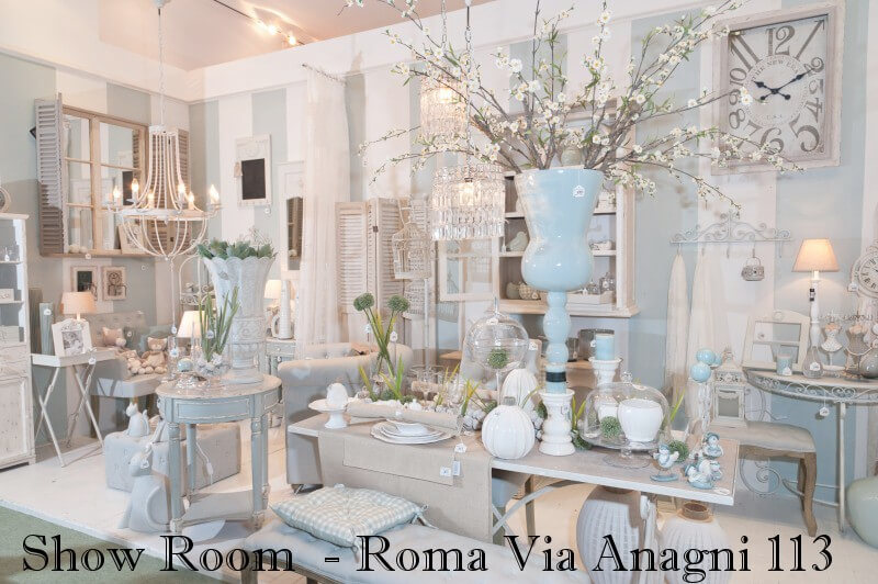 Arredamento shabby chic roma shanty design roma via for Arredamento country roma